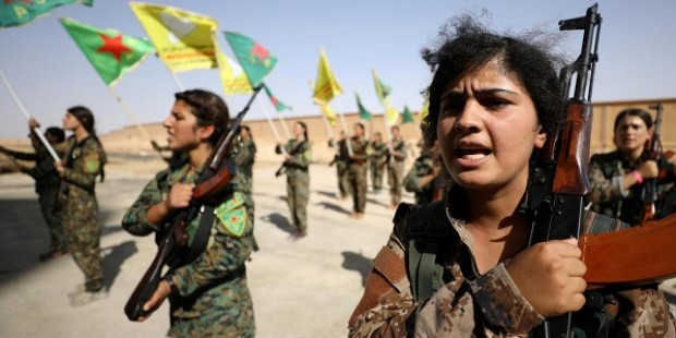 Syrias female soldiers prepare to take on Isis in battle for Raqqa